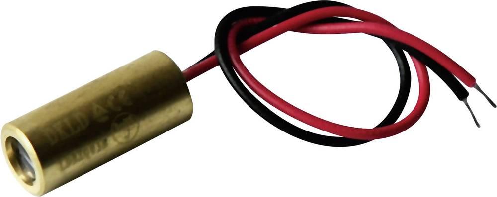 Laserski modul, linijski, rdeče barve 5 mW Laserfuchs LFL650-5-12(9x20)90-F250