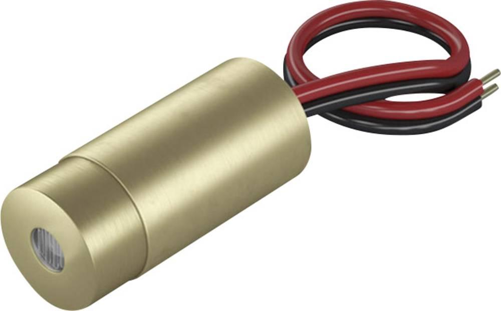 Laserski modul, točkasti, crvene boje 0.4 mW Laserfuchs LFD650-0.4-12(9x20)