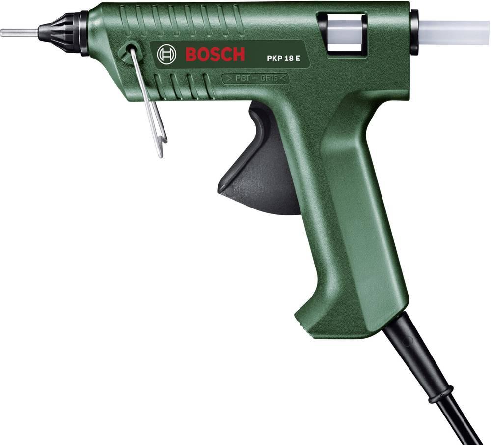 Bosch pištola za vroče lepljenje PKP 18 E lepilna palica: 11 x 45 - 200 mm