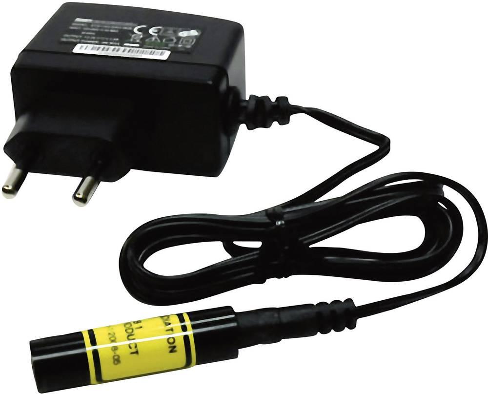 Cross laser, rød, inkl. Strømforsyning Laserfuchs LFC650-5(12x45)45-NT Rød 5 mW
