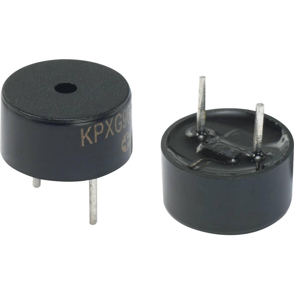 Magnetno brenčalo serije KPXG, glasnost 75 dB, obratovalna napetost 2 V, 1 kos