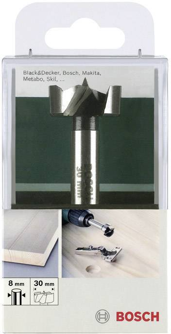 Wolfcraft 3326000 Forstner Drill Bit /Ø 10 mm Shank and /Ø 45 x 90 mm Size