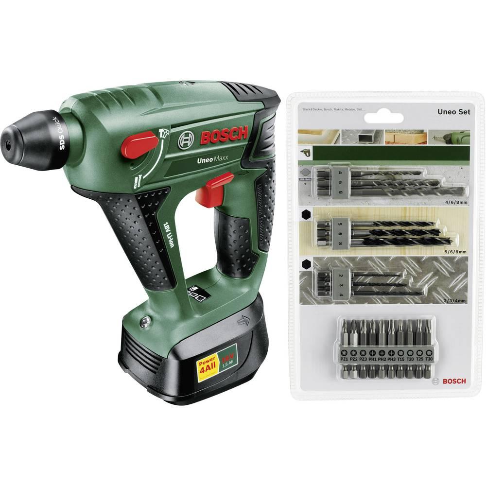 bosch uneo maxx+2akku+zb-set cordless screwdriver from conrad