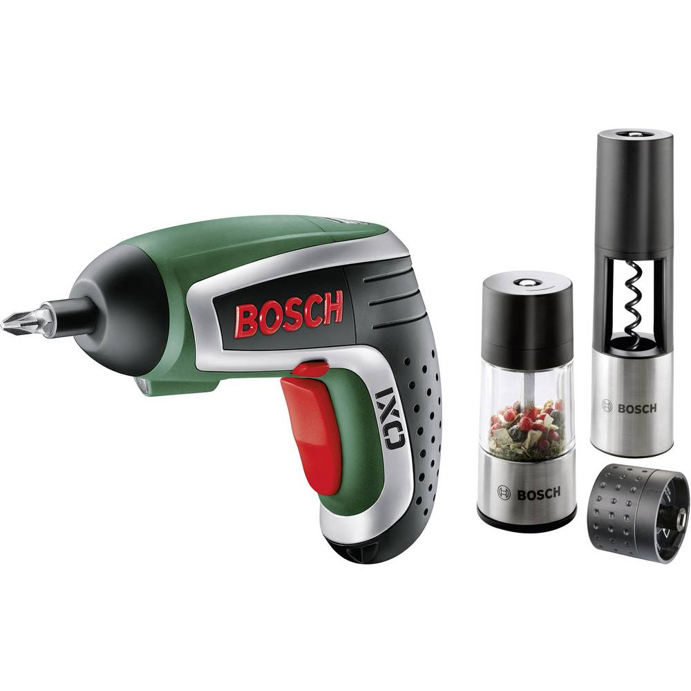 bosch ixo gourmet cordless lithium-ion screwdriver with corkscrew