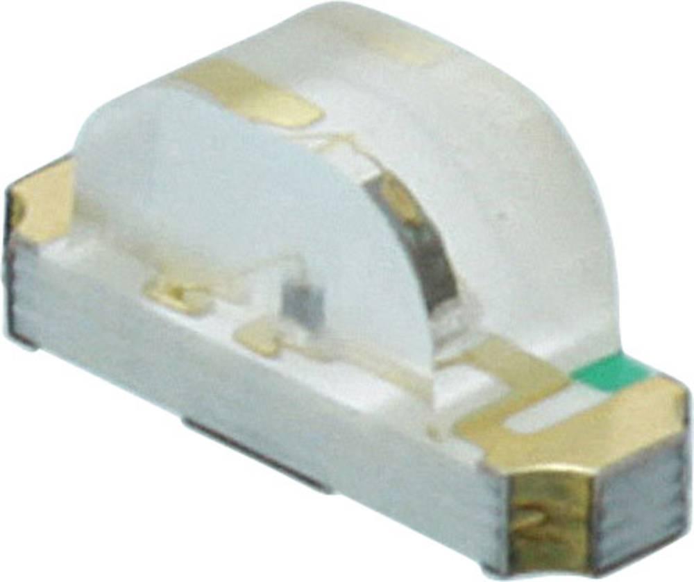 SMD LED Dialight 598-8370 -112F 1208 28 mcd 160 ° Grøn