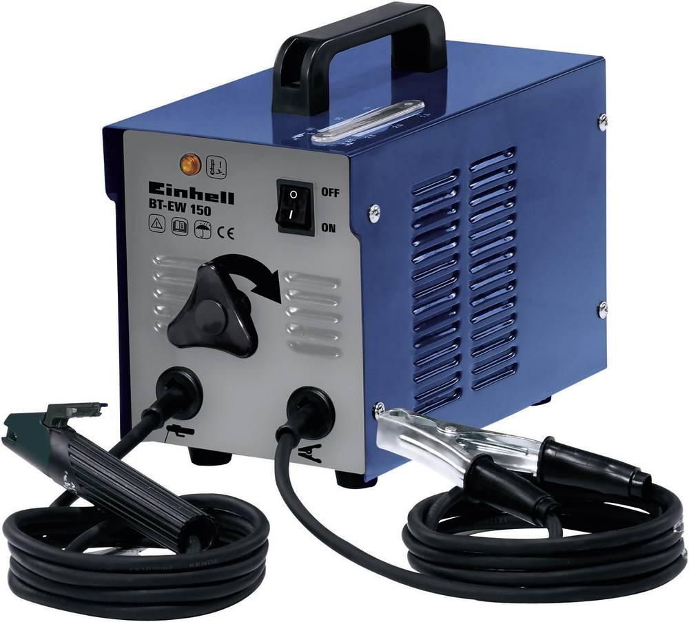 Električni varilni aparat Einhell BT-EW 150, 1544054, 230 V/50 Hz, varilni tok: 120 A