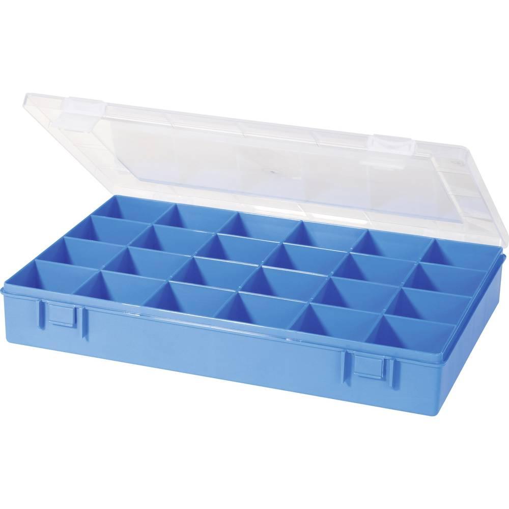 Sortirna škatla (D x Š x V) 335 x 225 x 55 mm Alutec št. predalov: 24 fiksna pregraditev