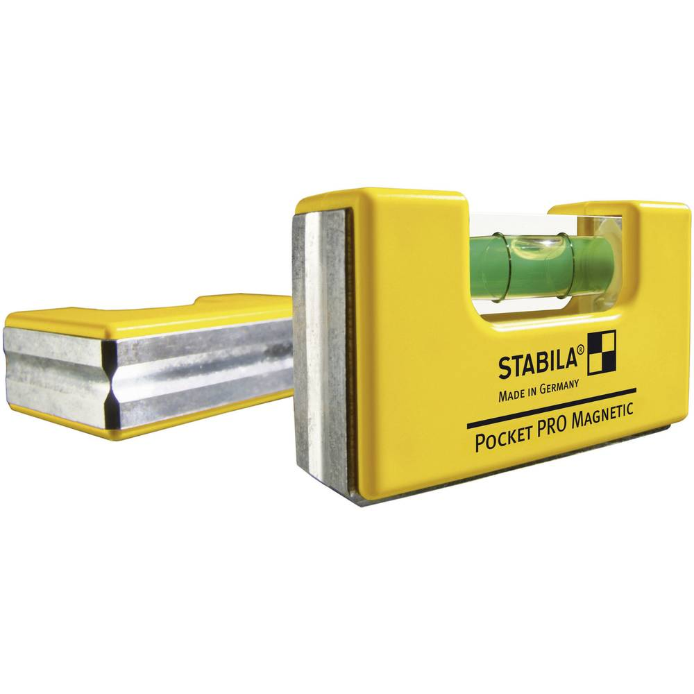 Stabila POCKET PRO MAGNETIC 17768 Mini spirit level 7 cm 1 mm/m Calibrated  to: Manufacturer's standards (no certificat