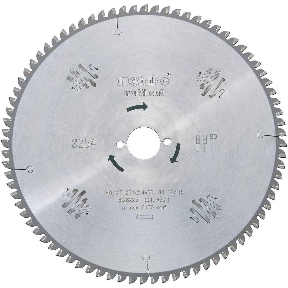 Carbide metal circular saw blade 216 x 30 x 18 mm number of cogs carbide metal circular saw blade 216 x 30 x 18 mm number of cogs 60 metabo hwct 216x30 60 fztr5 628083000 1 pcs greentooth Choice Image