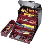 Top Line wheeled tool case with 5-part drawer set