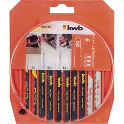 10pcs. Jigsaws Blade set 826430 2 each HCS blades fine, medium, coarse, 2 medium cu