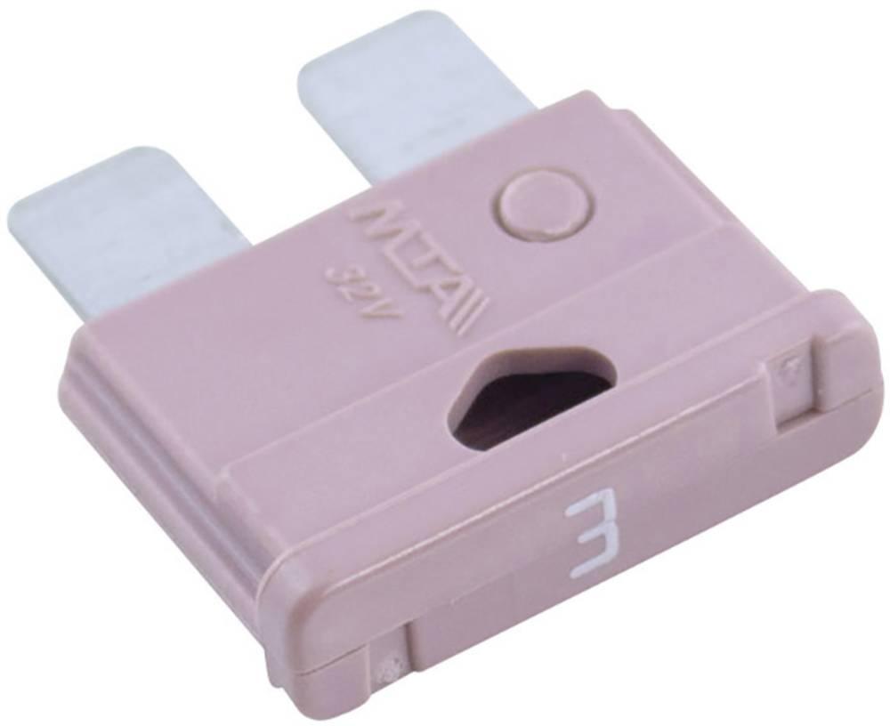 Standard fladsikring 3 A Violet MTA 340022 1 stk
