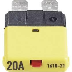 Sikringsautomat Standard Fladsikring 20 A Gul 1610 CE1610-21-20A 1 stk