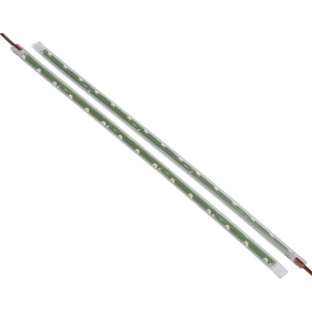 Unitec Fleksibilne pozicijske LED luči, 21 LED (Š x V x G) 260 x 3 x 10 mm