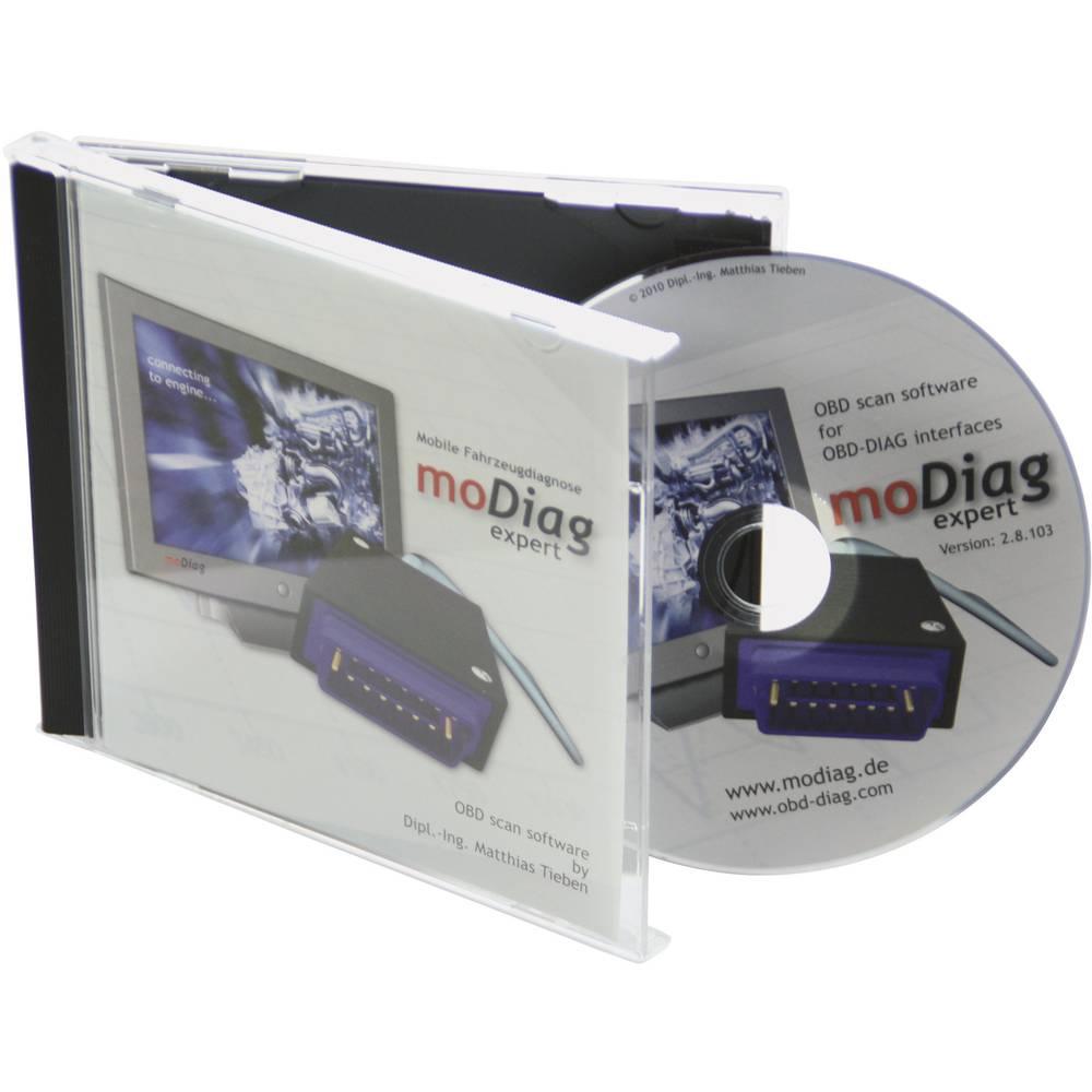 Programska oprema OBD II moDiag, primerna za vsa vozila s priključkom OBD II