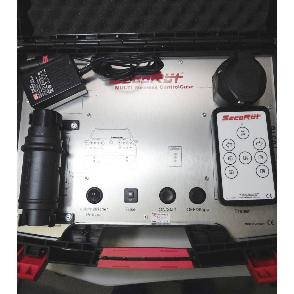 Secort Wireless Trailer Plug And Socket Tester From Mains Voltage
