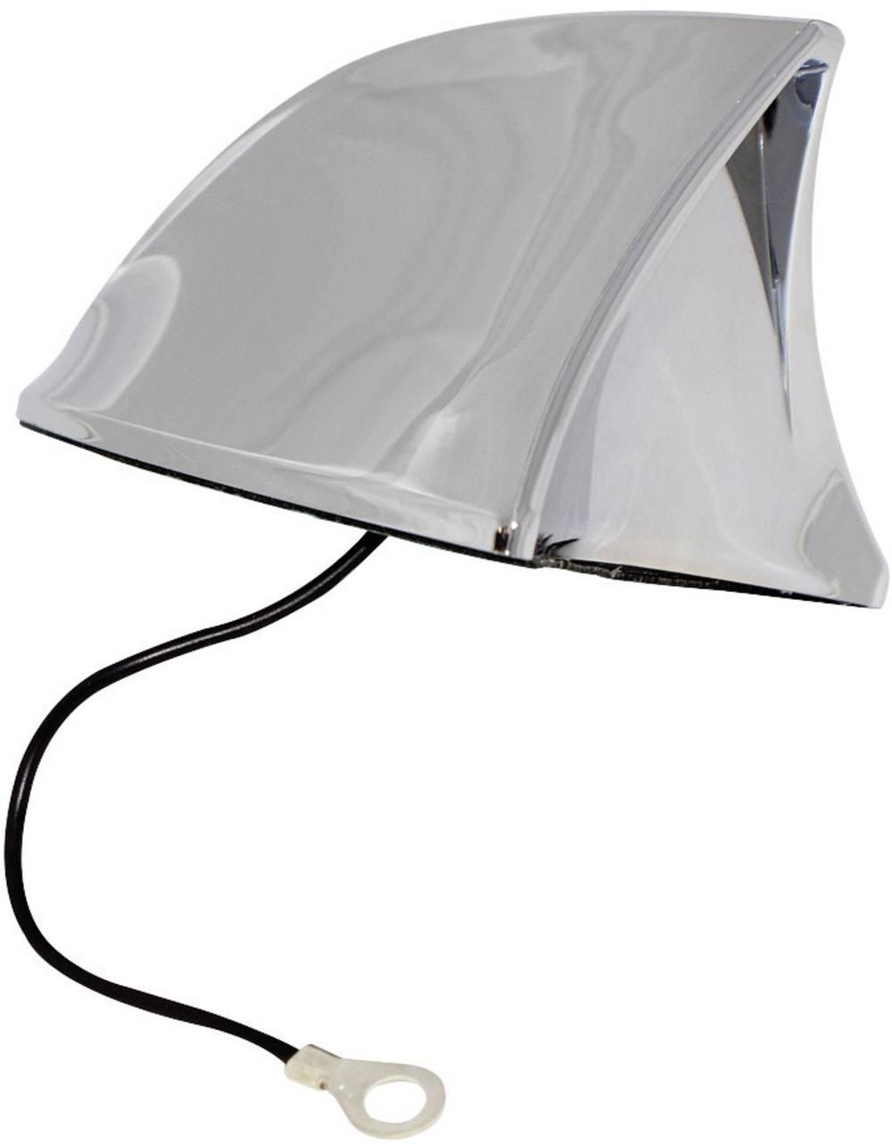 Antena iz umetne mase Eufab Shark, krom 521201