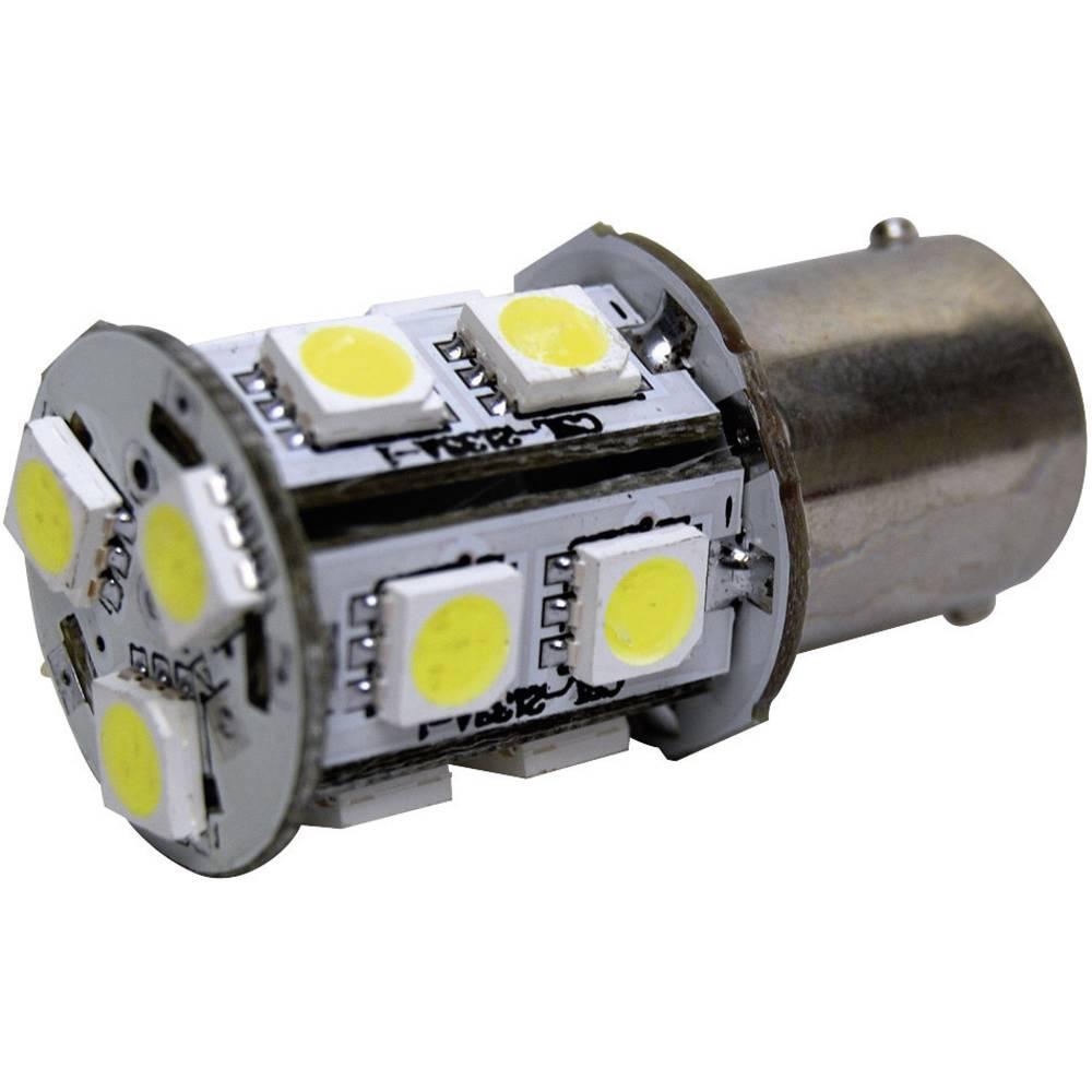 LED-signallampe Eufab BA15s 12 V