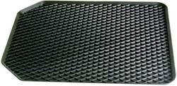 Fodmåtte Universal Gummi (L x B x H) 55 x 45 x 4.5 cm Sort 16524