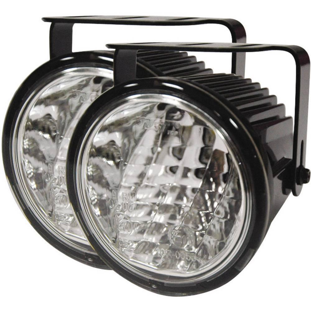 LED luči za dnevno vožnjo in pozicijske luči, 1 LED (Ø x G) 72 mm x 65 mm