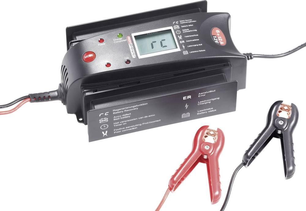 Profi Power automatski punjač akumulatora LCD 6+12A