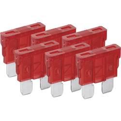 Standard fladsikring 10 A Rød FixPoint 20382 6 stk