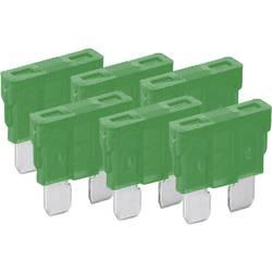 Standard fladsikring 30 A Grøn FixPoint 20386 6 stk