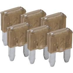 Mini fladsikring 7.5 A Brun FixPoint SORTIMENT 1027-7.5A KFZM-Sicherung 6 t 20388 6 stk