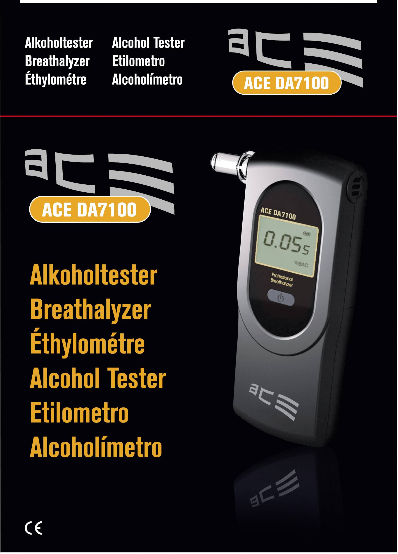 ACE Alcohol/ímetro AF-33