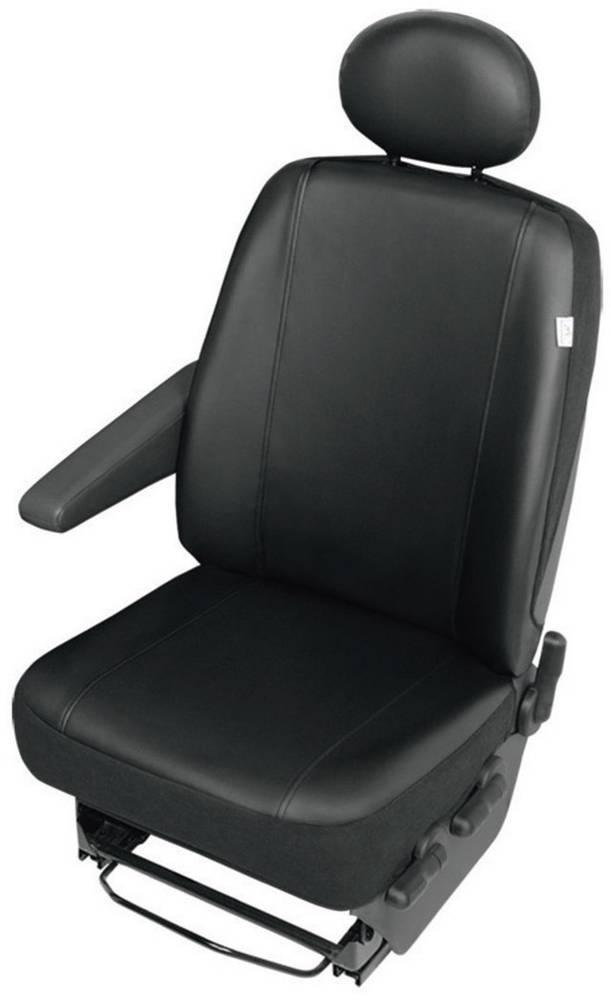 Zaščitna sedežna prevleka za kombije, črne barve, za posamezni sedež 22811