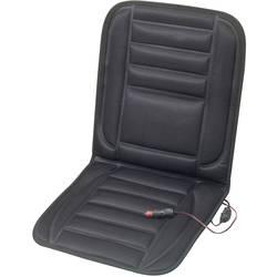 Sædebetræk, der kan varmes op 12 V 2 varmetrin Sort
