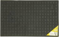 Fodmåtte Universal Gummi (L x B) 41 cm x 60 cm Sort 74575