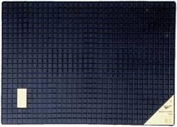 Fodmåtte Universal Gummi (L x B) 50 cm x 70 cm Sort 74576