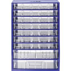 Sortirni predalnik za delavnico (D x Š x V) 306 x 460 x 155 mm št. predalov: 38 fiksna pregraditev