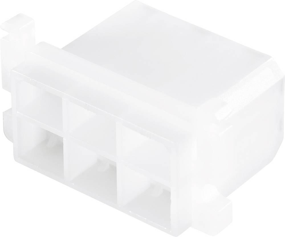 Hunstikskabinet 6-polet Tilslutningshus MTA 1 do 2,5 mm² Poltal 6 1 stk