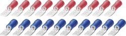 Fladstiksæt 6,3 mm Fladstik 0.25 do 2.5 mm² Poltal Fladstik 20 stk