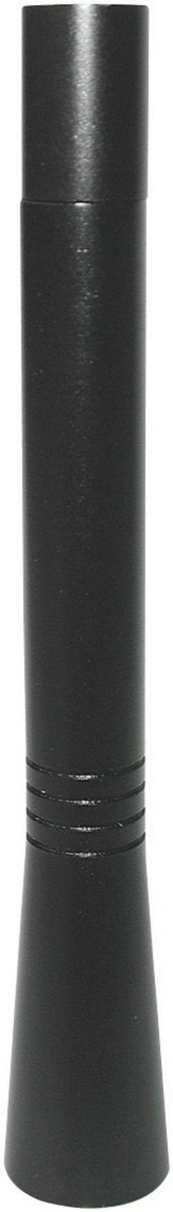 Aluminium Bil-stavantenne Sort Eufab 17561