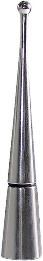 Eufab Aluminijasti tulec za anteno v obliki stožca, bleščeč 17566