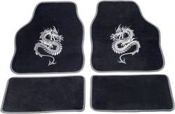 Fodmåtte (universal) Universal Tekstil Sølv cartrend 1400-03