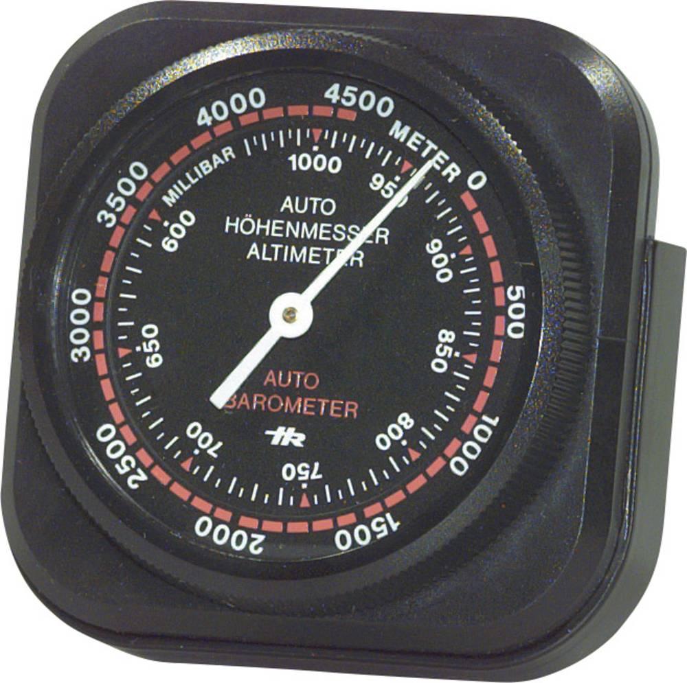 Bil påbygningsinstrument Højdemåler måleområde 0 - 5000 m Herbert Richter 10310501 ingen belysning