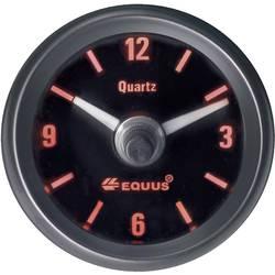 Bil indbygningsinstrument Quartz-ur analog Equus 656789 4 LED'er Blå, Grøn, Gul, Rød 52 mm