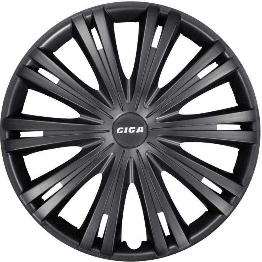 Hjulkapselblænder Giga Giga R14 Sort (mat) 4 stk