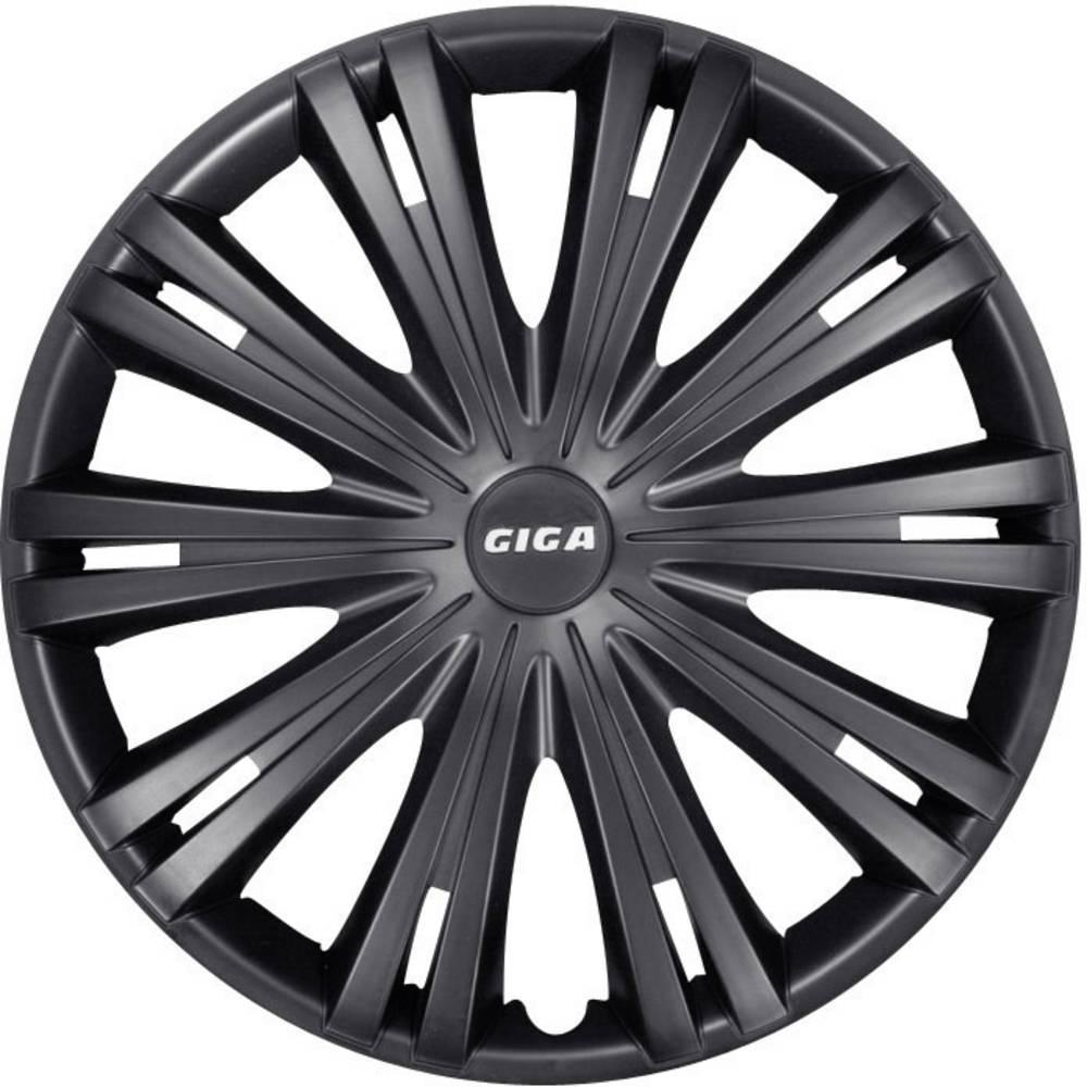 Hjulkapselblænder Giga Giga R16 Sort (mat) 4 stk