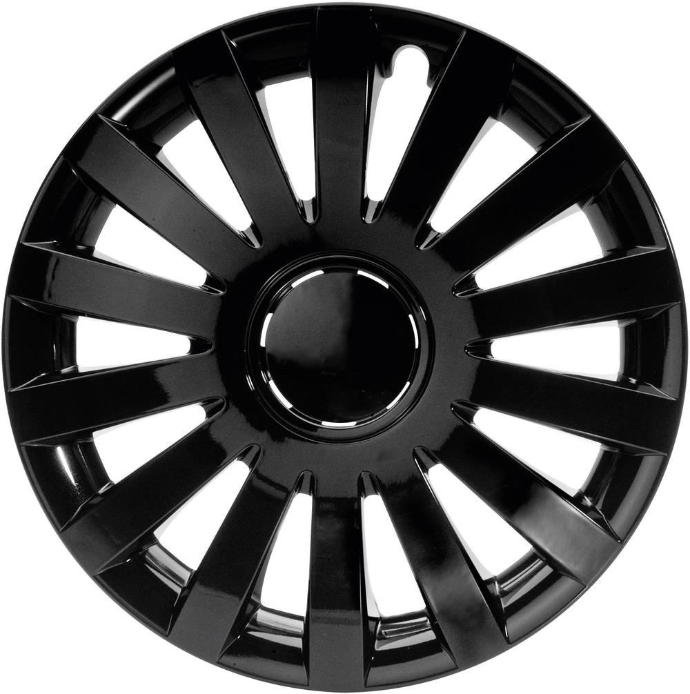 Okrasni pokrovi za platišča Design Wind R16 črna 4 kosi