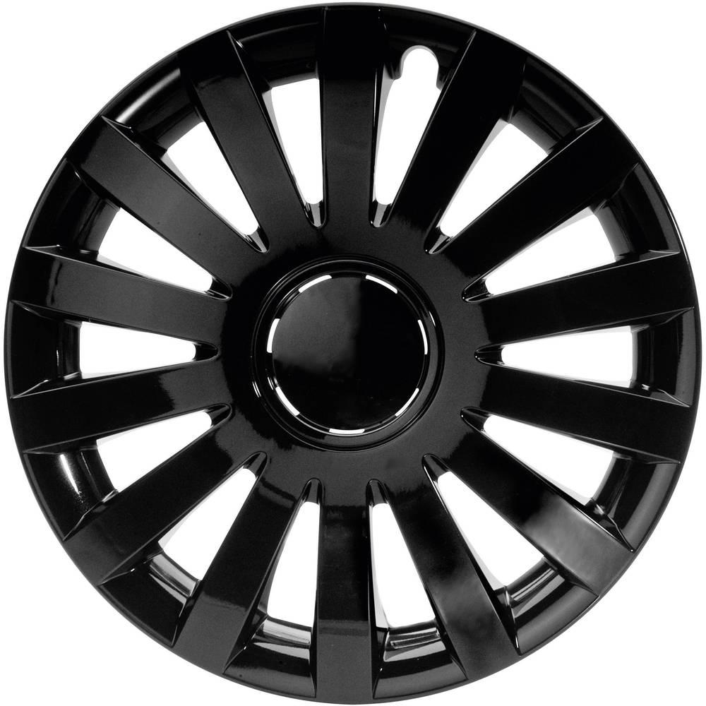 Okrasni pokrovi za platišča Design Wind R14 črna 4 kosi