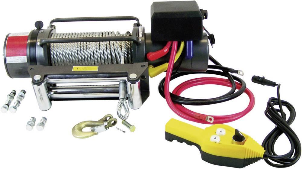 Vitel 4080 kg 12 V kabelski daljinski upravljalnik, vlečna sila (mirovanje)=4080 kg, vlečna sila (navijanje)=12000 kg