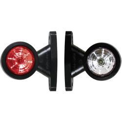 LED Omrids-markeringslygte SecoRüt højre, benstre Rød, Hvid