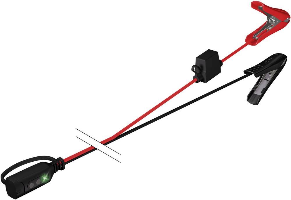 Ladetilslutning og ladeindikator. Lyntilslutning CTEK 56-384 Comfort Indikator Zange