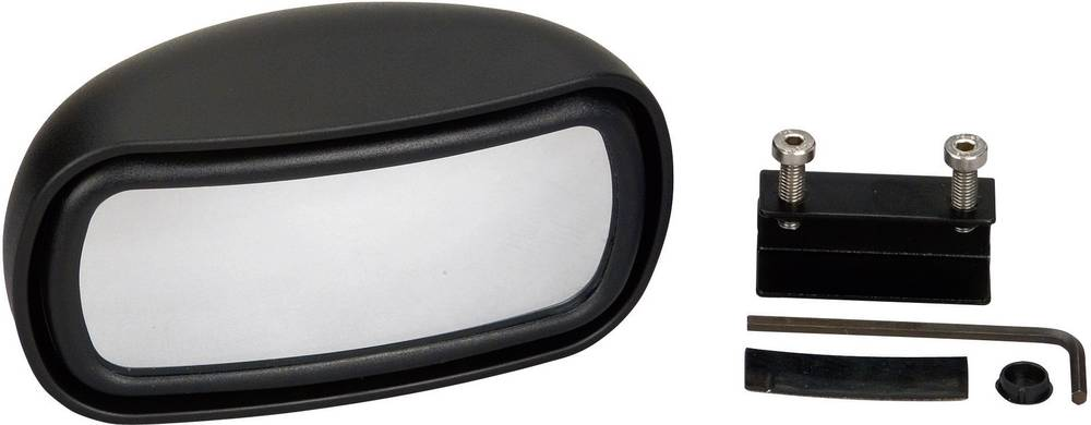 Spejl - Ekstra Herbert Richter 187/100 125 mm x 65 mm x 60 mm Klemmemontering
