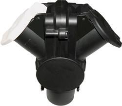 SecoRüt 60203 15 Pin Adaptor to 2x 7 Pin Socket Type N & S 24V